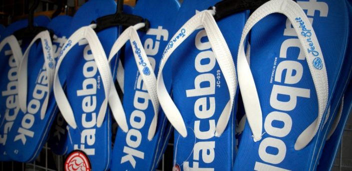 Facebook slippers