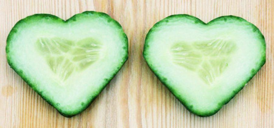 Heart eyes komkommers