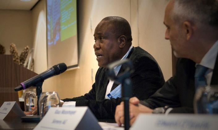speaker, Joel Bisina of LITE Africa